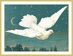 Caspari Dove Christmas Cards (Box of 16)