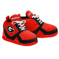 Forever Collectibles NCAA Georgia Bulldogs Slipper - Red - Size: Medium