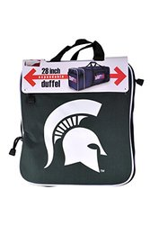 NCAA Michigan State Spartans Steal Duffle Bag - Green