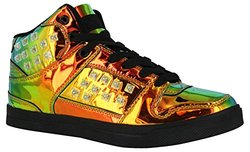 Gotta Flurt Hip Hop HD III 3/4 Top Sneaker, Gasoline/Black, Size 7