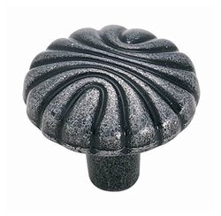 Amerock BP1337WI Natural Elegance Round Knob - Wrought Iron - 1-7/32-Inch