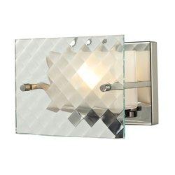 Elk Lighting 1 Bath Light Talmage Collection - Brushed Nickel