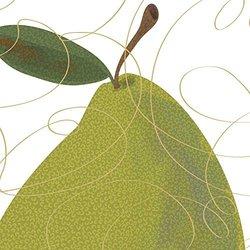 Paper Products Design Paper Napkins - A la Carte Pear - Set of 20