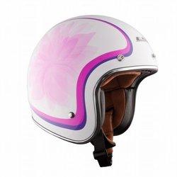 LS2 Helmets OF583 Bobber Open Face Helmet (Glow White, XX-Large)
