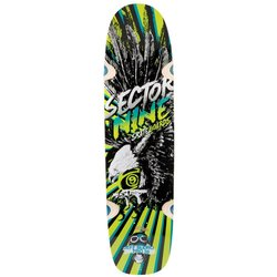 Sector 9 Budro Pro Deck Skateboard - Yellow (SPS153DYellow)