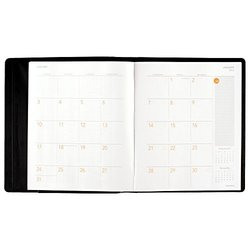At-A-Glance Monthly Planner and Notebook 2016 - 8.75 x 11 Inches - Black