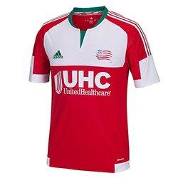 Adidas MLS New England Revolution Men's Short Sleeve Jersey - Size: Large