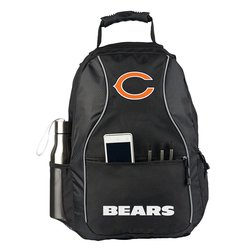 NFL Chicago Bears Elite Backpack - Black