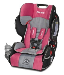 Recaro Performance SPORT Combination Harness-to-Booster Car Seat - Rose