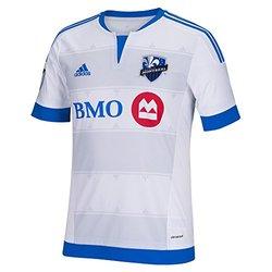 Adidas MLS Impact Montreal Men's Replica Short Sleeve Jersey - Size: Medium
