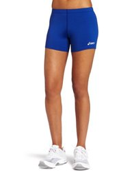 ASICS Women's 4 Court Short - Royal - Size: XX-Small