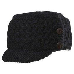 Chaos Women's Hone Wool Visor Beanie - Black - Size: One Size