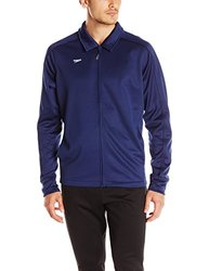 Speedo Men's Streamline Warm Up Jacket, Navy, X-Large
