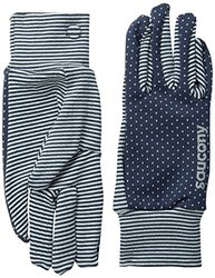 Saucony Women's Swift Gloves - Midnight/Morning Dew - Size: Large