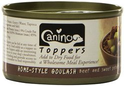 Canino Toppers, Home-Style Goulash, 3.2 Ounce (Pack of 24)