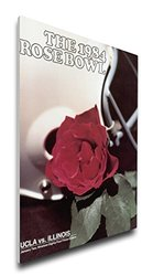 NCAA UCLA Bruins 1984 Rose Bowl Canvas Program Cover, Regular