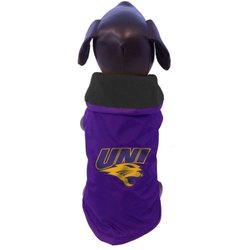 NCAA Northern Iowa Panthers All Weather-Resistant Protective Dog Outerwear, Large