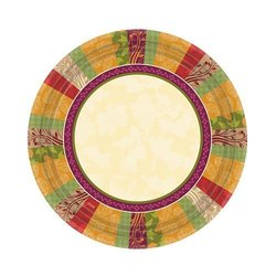 Hanna K. Signature 98574 7 in. Fall Expressions Plate - 1440 Per Case