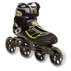 Rollerblade Men's Tempest 110 Performance Skate - Black/Green - Size: 10.5
