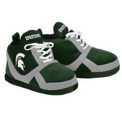NCAA Michigan State Spartans 2015 Sneaker Slipper - Green - Size: Small
