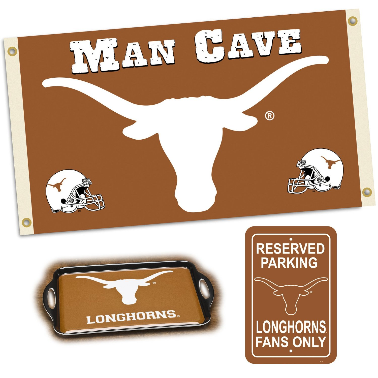 Man Cave Gifts Reviews : Ncaa texas longhorns man cave gift pack check back soon