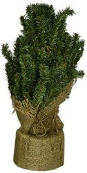 """CWI Gifts Artificial Pine Tree with Burlap Base - Size: 12"""""""