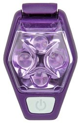 Nathan HyperBrite Strobe, Imperial Purple Fiery Red/Silver