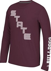 NCAA Mississippi State Bulldogs Men's Long Sleeve Tee - Maroon - Size: L