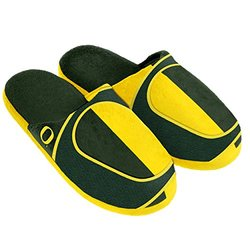 NCAA Oregon Ducks Split Color Slide Slipper - Green - Small