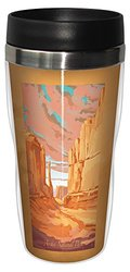 Tree-Free Greetings sg23091 Scenic Arches National Park Broadway by Mike Rangner Stainless Steel Sip 'N Go Travel Tumbler, 16-Ounce, Multicolored