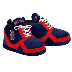 Forever Collectibles MLB Boston Red Sox Sneaker Slipper - Medium - Red