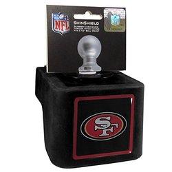 NFL San Francisco 49ers Shin Shield Class V Hitch Cover - Black