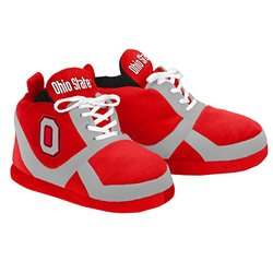 Forever Collectibles NCAA Ohio State Buckeyes Sneaker Slipper - Red - Sz: M