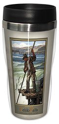 Tree-Free Greetings sg23121 Vintage Columbia River Gorge Celilo Falls by Paul A. Lanquist Stainless Steel Sip 'N Go Travel Tumbler, 16-Ounce