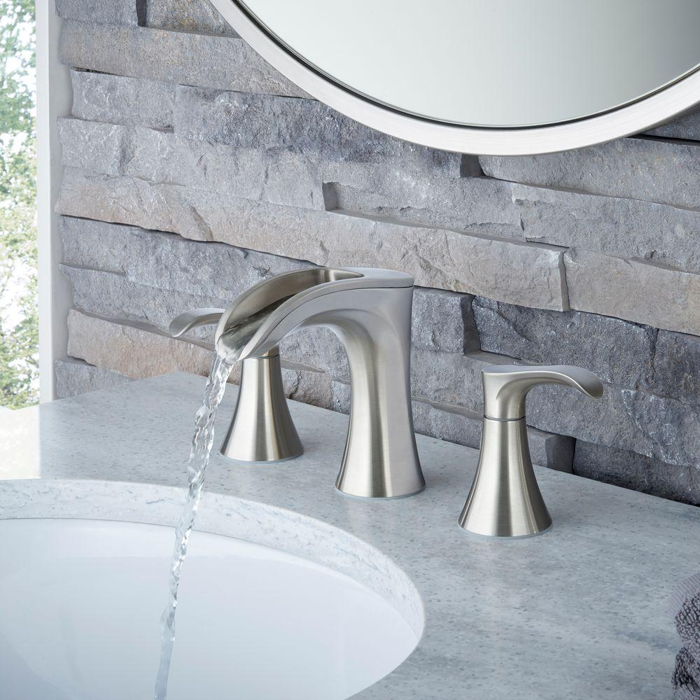 Pfister Brea 8 Quot Widespread 2 Handle Waterfall Bath Faucet