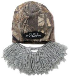 Beard Head Men's Duck Dynasty Camouflage Short Beard Beanie - Grey