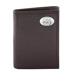 ZEP-PRO NCAA North Carolina State Wolfpack Men's Wallet - Brown - One Size