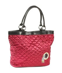 Littlearth NFL Washington Redskins Quilted Tote - Maroon - Size: One Size