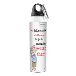 Tree Free Aunty Acid Artful Traveler Stainless Steel Water Bottle - 18 Oz