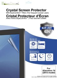 Green Onions Supply EyeComfort Crystal Anti-Fingerprint Screen Protector for Alienware 14-2013