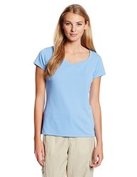 Columbia Sportswear Women's Short Sleeve Shirt - White Cap - Size: Small