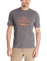 Outdoor Research Men's Bowser Tee - Charcoal Heather - Size: Small