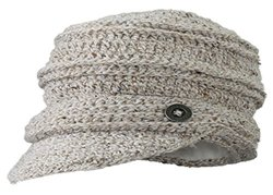 Screamer Women's Danica Knit Cap, Linen, One Size