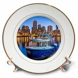 False Creek Water Taxi Porcelain Plate - 8""