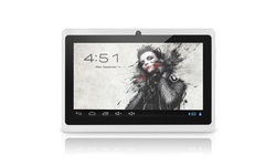 "Chromo Capacitive 7"" Tablet 16GB - White (Cl2419)"