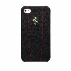 Mastersclub Leather Case for iPhone 4/4S - Black
