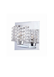 World Imports 25722-YOW Lenza Collection 1-Light Chrome Sconce