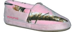 Pro Line Women's Closed Back Slippers - Realtree AP Camo - Size: Large