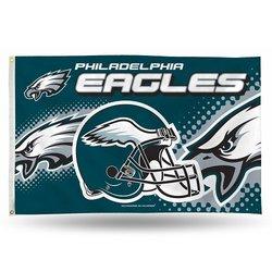 Rico NFL Philadelphia Eagles 3'x5' Banner Flag
