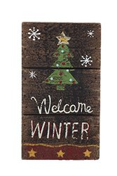 Attraction Design Merry Christmas Welcome Winter Wall Decor - 20""